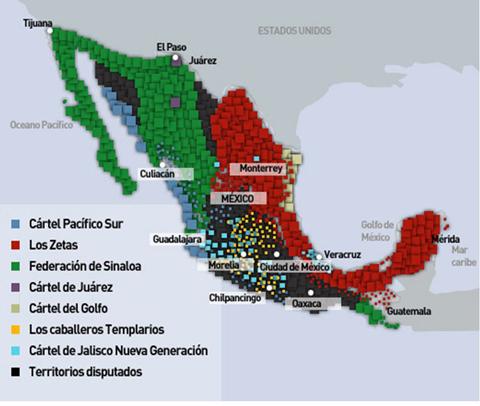 territorios narcotrafico