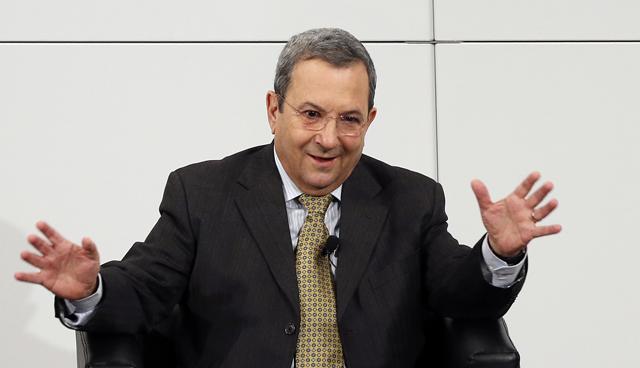 El ministro israelÌ de Defensa, Ehud Barak