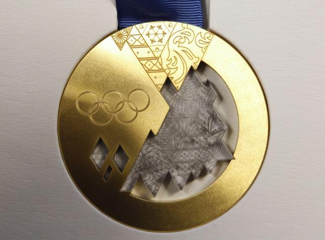 medalla sochi oro
