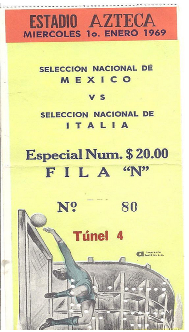 boleto mexico italia azteca
