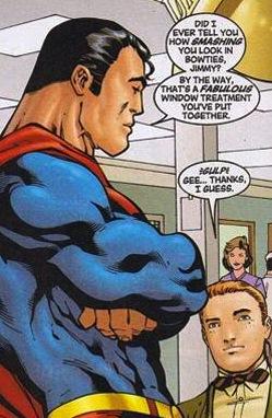 Superman bajo los efectos de la kriptonita rosa