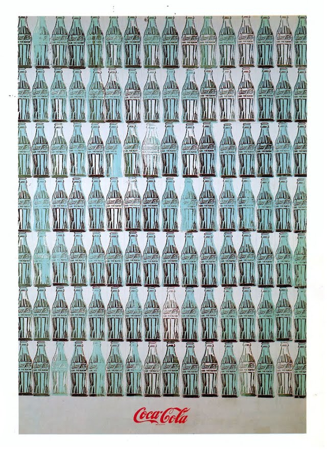 andy warhol green coca cola bottles 1962