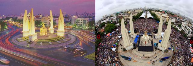 monumento a la democracia tailandia
