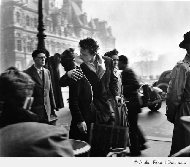 El beso del ayuntamiento, Paris, 1950