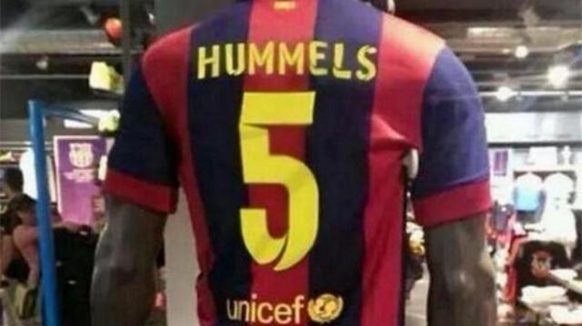 playera hummels