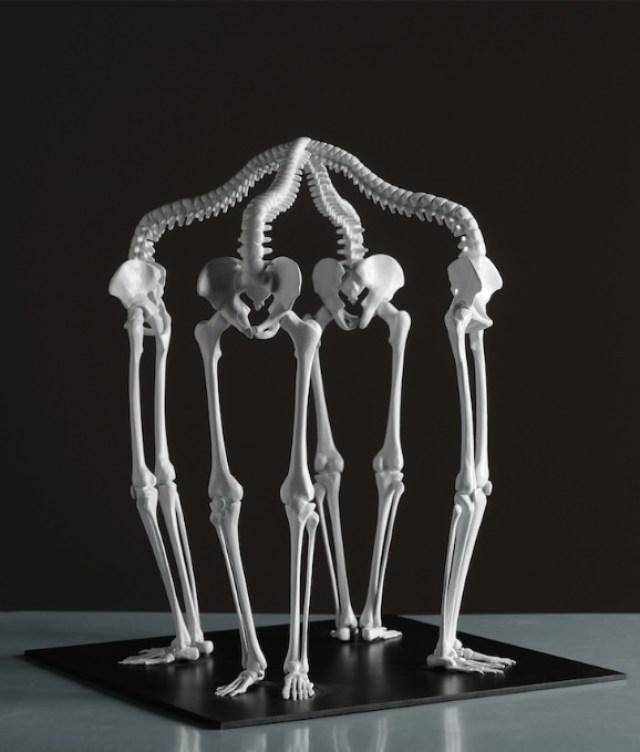 Hermosas esculturas hechas con huesos - Sopitas.com