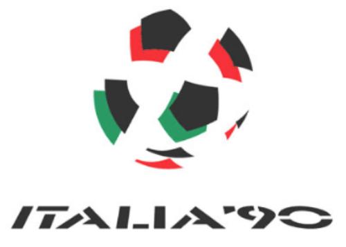 logo italia 90