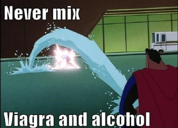 Viagra after drinking alcohol