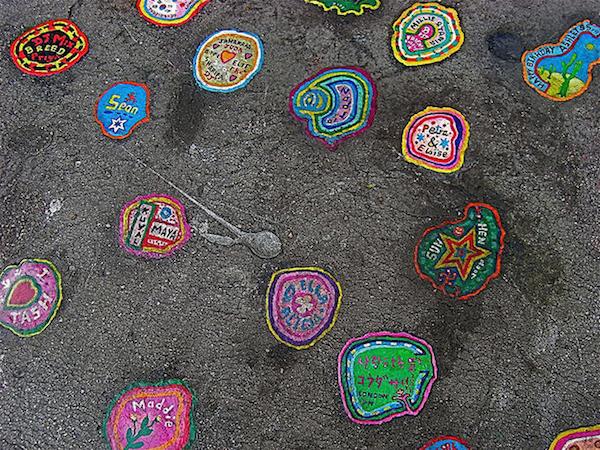 gum art Ben Wilson