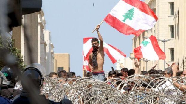 libano marcha
