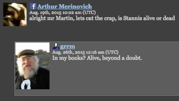 Livejournal George R.R. Martin