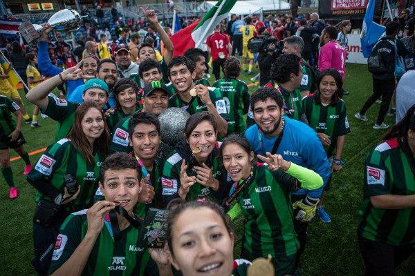 Mexico campeón de la Homeless World Cup 7