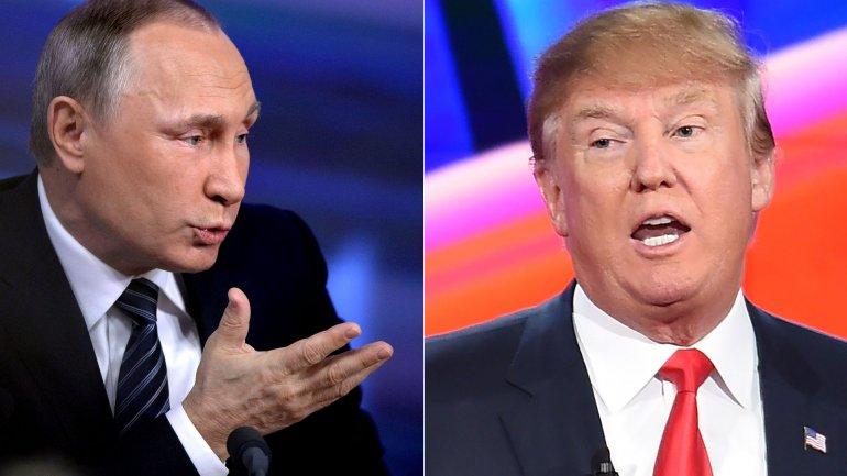 Resultado de imagen para Imágenes de pútin y Donald Trump