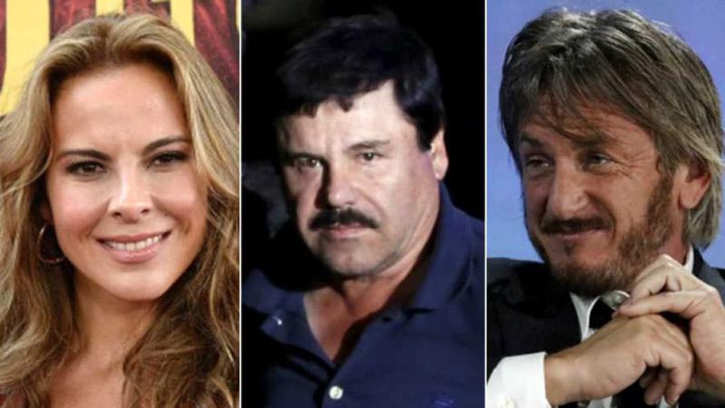 Sean Penn y Kate del Castillo serán investigados por la PGR