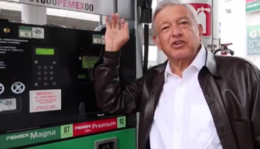 amlo video gasolina