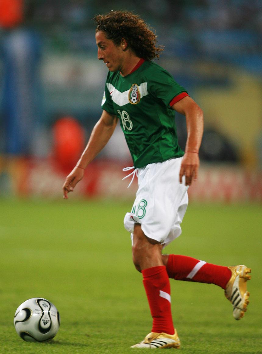 Andrés Guardado con la Selección Mexicana