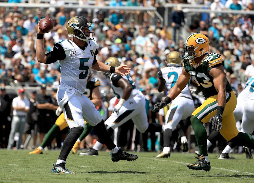 Blake Bortles puede liderar a los Jaguars a playoff este año