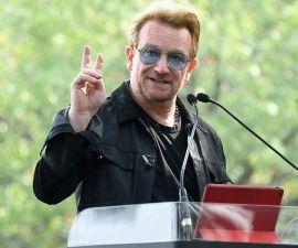 Bono pone su postura ante Donald Trump