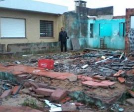 Casa en Brasil es robada