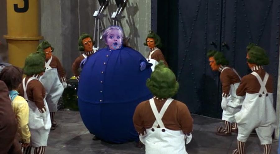 Cotton Candy Girl - Charlie y la Fabrica de Chocolates