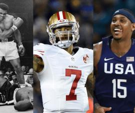 Estos son algunos deportistas que se han postulado en contra del racismo.