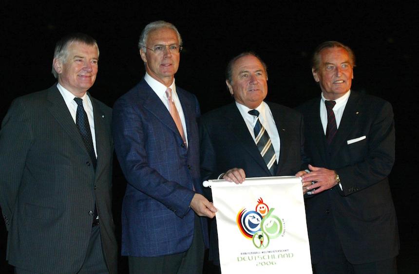Se dice que Beckenbauer compró boletos para ganar el mundial