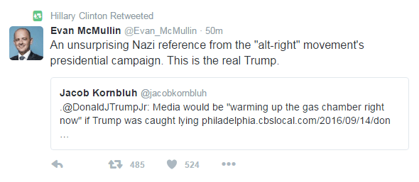 hillary-clinton-retweet-donald-trump-referencia-nazi