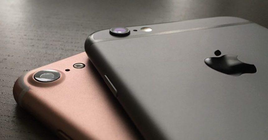 iPhones 7 y 7Plus