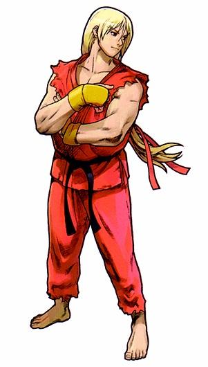 Ken Street Fighter Alpha 3