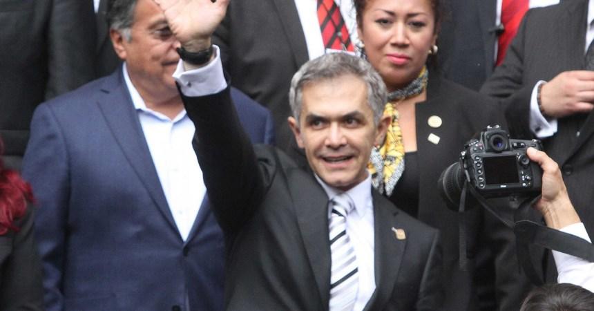 Mancera anuncia mesas de trabajo con José Antonio Meade para discutir el presupuesto