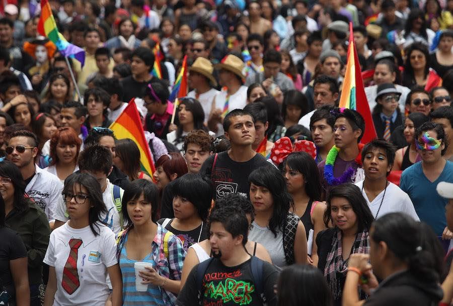 Marcha a favor del Orgullo Nacional