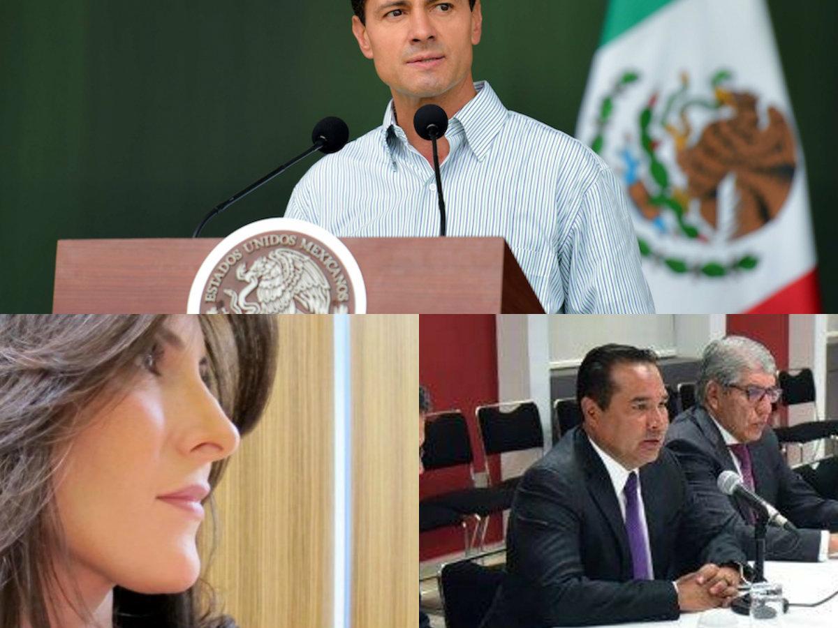 Maritza Díaz critica a Peña Nieto por nombrar a Luis Miranda como titular de Sedesol