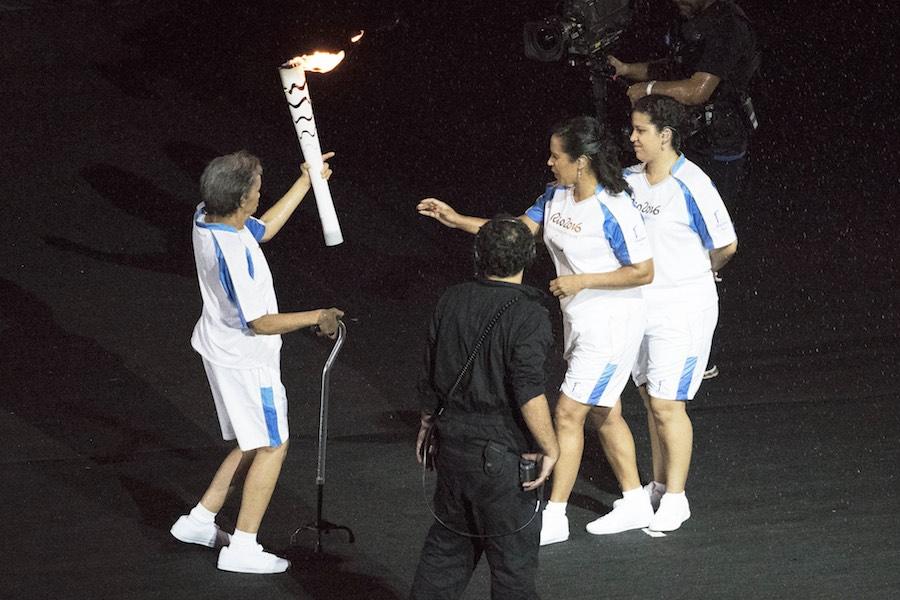 Imágenes de la Ceremonia de Apertura de los Juegos Paralímpicos de Río 2016.