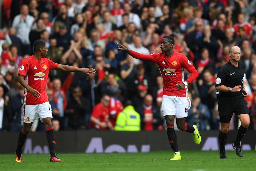 Paul Pogba por fin marcó con el Manchester United