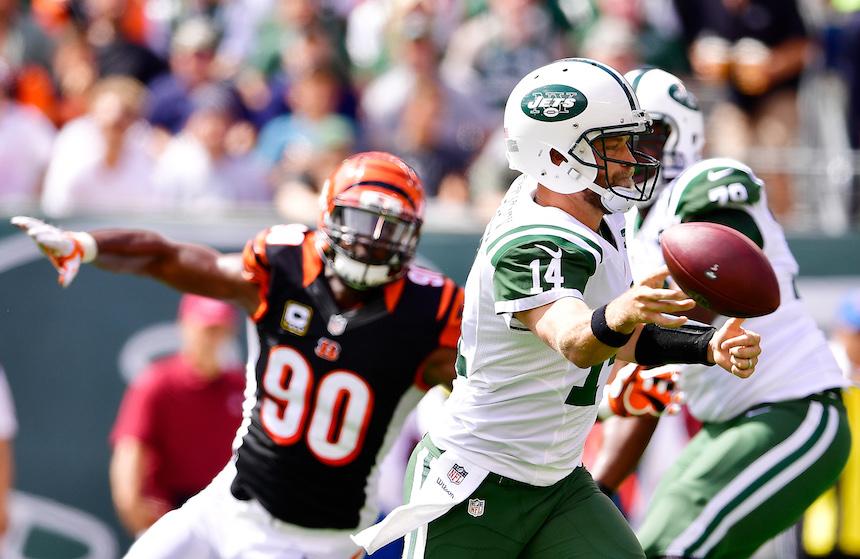 Ryan Fitzpatrick le costó el triunfo a los Jets