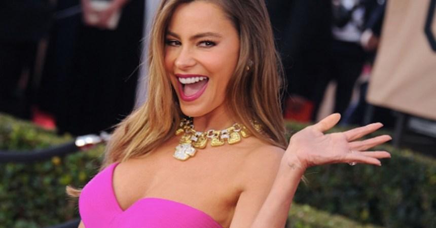 Sofía Vergara, la actriz mejor pagada de la televisión de EUA en 2016.