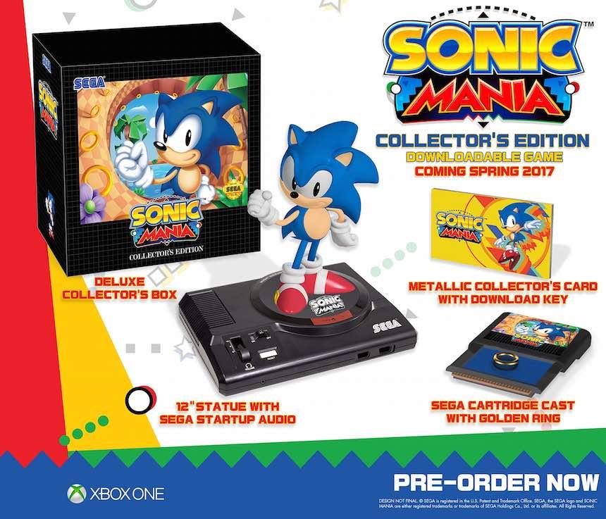 Sonic Mania Edición de Colección