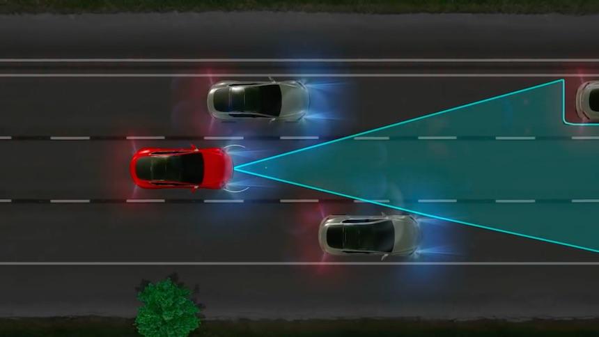 Tesla Sistema Automático
