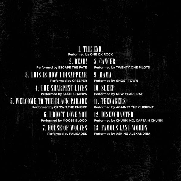 tracklist-the-black-parade-covers