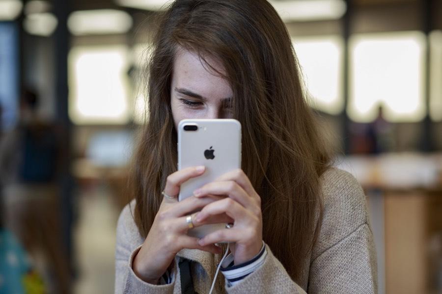 Usando un smartphone