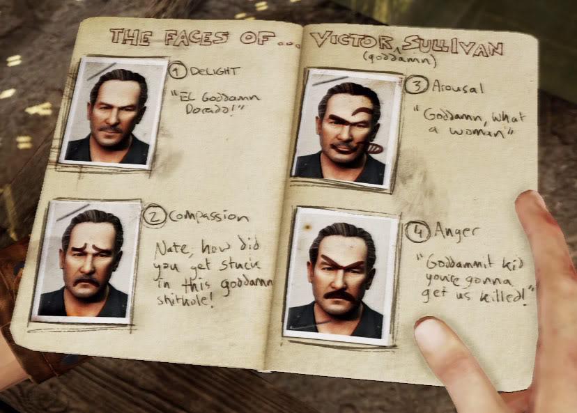 "Victor ""Goddamn"" Sullivan Uncharted"