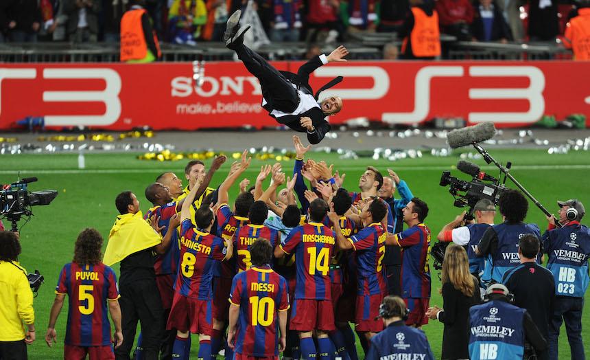Barcelona ganó todo en el primer año de Guardiola