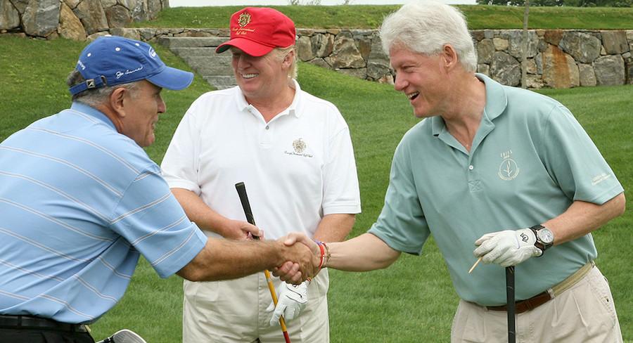 bill-clinton-donald-trump-golf