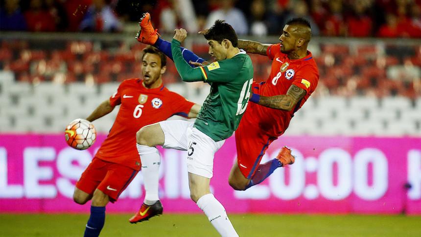 Chile dejó pasar la oportunidad de ganar tres puntos