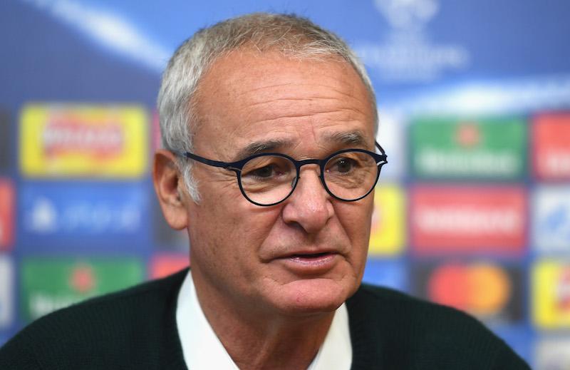 Claudio Ranieri serio