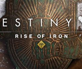 Destiny Rise of Iron Portada