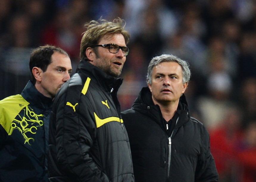Jurgen Klopp y José Mourinho