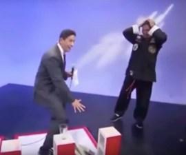 Conductor descubre a karateka farsante