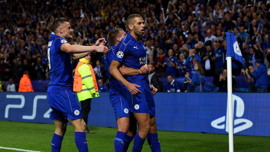 Leicester City ha tenido un buen desarrollo en la Champions