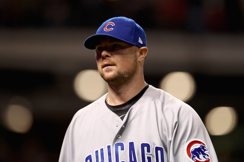 Lester triste con Chicago